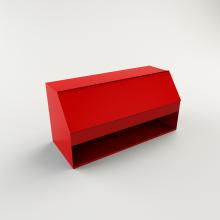 Ящик для песка пожарный ЯП-0,3-01 с дозатором