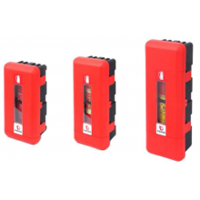 Пенал для огнетушителя Daken, пластик 12 кг, 2ХД=170-190 мм, 865х335х240 бюджетная серия