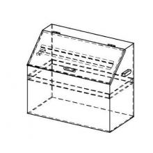 ящик +для ветоши металлический